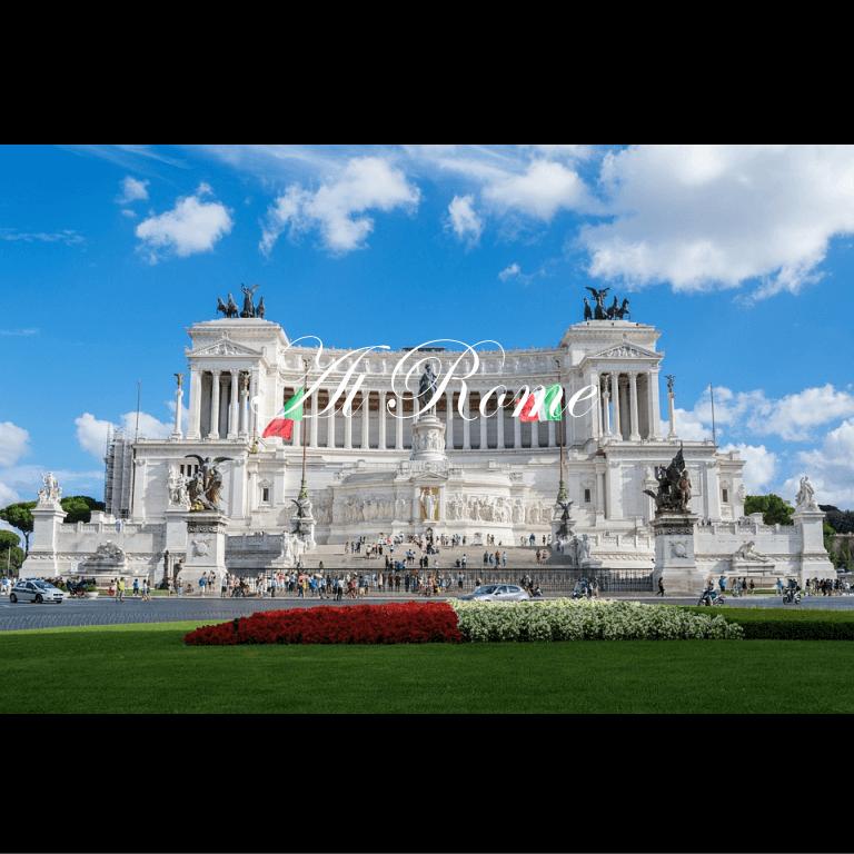 ローマでの王室晩餐会に出席